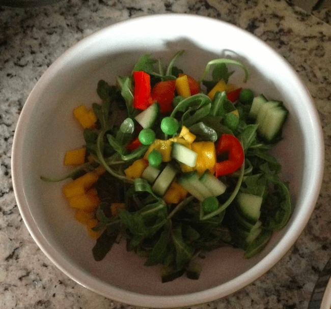 Simple Summer Arugula Salad